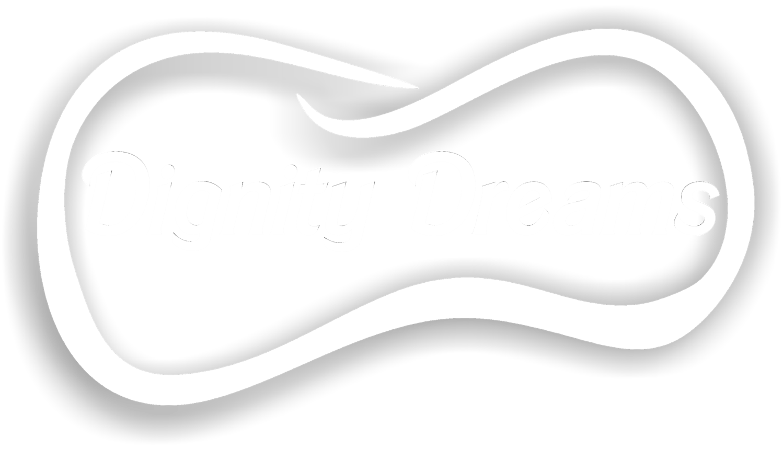 Dignity Dream logo white