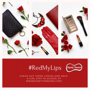 #RedMyLips lipsticks